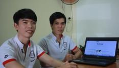 Ứng dụng đặt lịch hẹn khám bệnh, làm đẹp của hai chàng trai trẻ