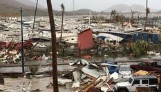 Siêu bão Irma tàn phá các đảo ở Caribe