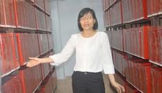 Vào kho quốc gia, xem bản gốc 'Châu bản triều Nguyễn'