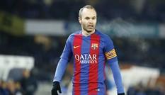 Barcelona gia hạn hợp đồng 2 năm với Iniesta