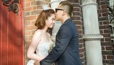 Ngọc Trinh làm cô dâu e ấp bên Khắc Tiệp