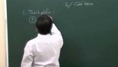 Luyện thi môn Sinh học: Ôn tập về axit Nuclêic