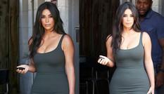 Kim Kardashian khoe đường cong 'nghẹt thở' ở Los Angeles