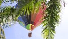 Trình diễn khinh khí cầu trong lễ hội pháo hoa Đà Nẵng