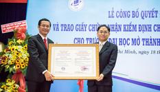 Đại học Mở TPHCM đạt kiểm định chất lượng giáo dục