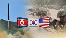 Quân đội Triều Tiên cảnh báo cuộc tập trận của liên quân Mỹ - Hàn