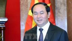 Chủ tịch nước Trần Đại Quang: Phát triển quan hệ Việt-Lào chất lượng, hiệu quả, thiết thực
