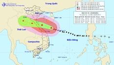 Bão số 10 tăng tốc, cách bờ biển miền Trung 300km