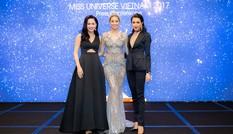 Top 3 Hoa hậu Hoàn vũ 2015 tái hợp tỏa sáng