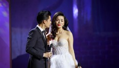 Lệ Quyên mặc váy cưới, ước được làm cô dâu của Quang Dũng