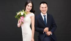 Á hậu Vân Quỳnh khoe ảnh cưới bên chồng giảng viên đại học