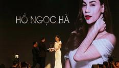 Hồ Ngọc Hà đoạt giải thưởng 'Biểu tượng sắc đẹp của năm'