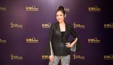 Á hậu Hoàng My về nước làm giám khảo Hoa hậu Hoàn vũ 2017