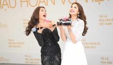 Á hậu Lệ Hằng được BTC HHHV bí mật tổ chức sinh nhật