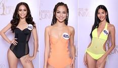 Hoàng Thuỳ, Mâu Thuỷ mặc bikini 'lấn át' dàn thí sinh tại sơ khảo HHHV