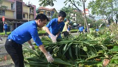 Tuổi trẻ Quảng Bình ra quân khắc phục hậu bão số 10