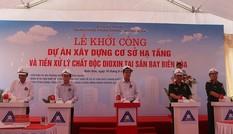 Bộ Quốc phòng khởi công dự án xử lý dioxin tại sân bay Biên Hòa