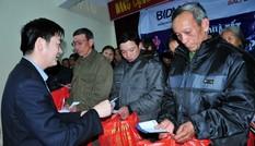 BIDV hỗ trợ 60 triệu đồng cho cựu TNXP Nghệ An, Hà Tĩnh