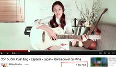 Cô gái Mỹ gốc Việt cover 'Con bướm xuân' bằng 5 ngôn ngữ