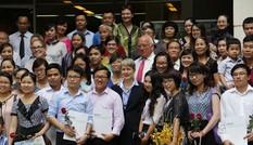 59 người nhận học bổng DAAD