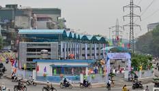Bên trong giàn thép đỗ xe 4 tầng hiện đại nhất Hà Nội