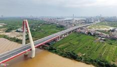 Diện mạo mới trên tuyến đường nối thủ đô với cầu Nhật Tân