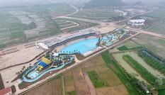 Khu nghỉ dưỡng có biển nhân tạo giữa Hà Nội của 'chúa đảo' Tuần Châu