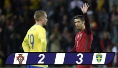 Bồ Đào Nha thua ngược Thụy Điển, Ronaldo bẽ mặt tại quê nhà