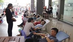 Đà Nẵng tiếp nhận thêm 400 đơn vị máu từ sinh viên