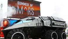 Lộ diện robot tự hành tương lai trên sao Hỏa