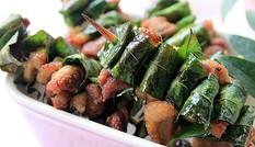 Những món ăn dậy mùi chuẩn vị nhờ lá móc mật
