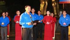 Đắk Lắk: 2000 đoàn viên thanh niên thắp nến tri ân tại nghĩa trang liệt sỹ