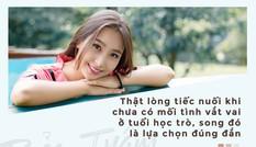 Chia sẻ bất ngờ của hot girl Sài Gòn đẹp rạng ngời chưa hề yêu ai