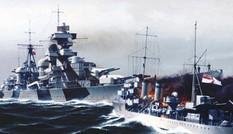 Trận đối đầu khiến chiến hạm Đức 'ngả mũ' trước tàu khu trục Anh