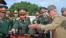 Thượng tướng Phan Văn Giang dẫn đầu đoàn đại biểu quân sự Việt Nam thăm Cuba