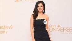 10 người đẹp đầu tiên vào Bán kết Hoa hậu Hoàn vũ Việt Nam