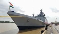 Hai tàu Hải quân Ấn Độ ghé thăm cảng Hải Phòng