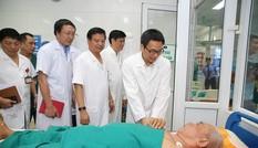 Bệnh nhân sốt xuất huyết có dấu hiệu giảm dần