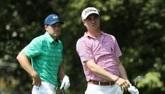Justin Thomas vượt xa Jordan Spieth dẫn đầu vòng 2 Tour Championship