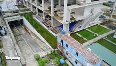 Cận cảnh tòa tháp nghìn tỷ bỏ hoang giữa Hà thành