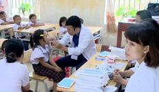 Tài trợ công trình gần 100 triệu đồng cho trường tiểu học