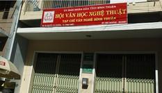 Công an triệu tập Chủ tịch Hội VHNT Bình Thuận