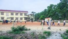 Phát hiện bom bi và lựu đạn trong khuôn viên trường học