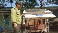 Làm rõ vụ xe biển xanh chở gỗ lậu ở Quảng Nam