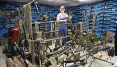 'Quý ông' tự nhận sở hữu nhiều vũ khí nhất nước Mỹ