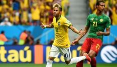 Thắng tưng bừng, Brazil và Mexico lấy vé vào vòng trong