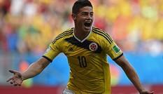 [ĐỒ HỌA] Năm chân sút hàng đầu World Cup 2014