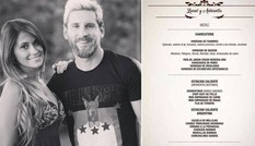 Tiết lộ thực đơn phục vụ đám cưới Messi