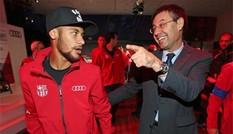Ngôi sao Neymar ví Chủ tịch Barca như gã hề