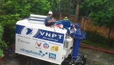 VNPT 'điều' điện thoại vệ tinh tới vùng bão để giữ liên lạc